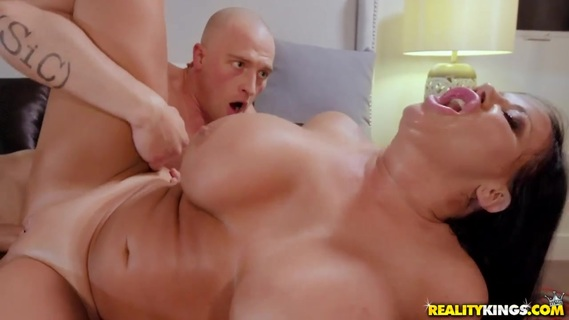 Big-boobied Sybil Stallone is humped. Check out Big-boobied Sybil Stallone is humped on FRPRN.com