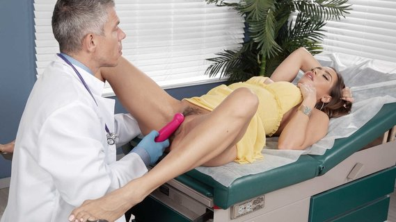 Gynecologist checks if his cock fits in Desiree Dulce's twat. Check out Gynecologist checks if his cock fits in Desiree Dulce's twat on FRPRN.com