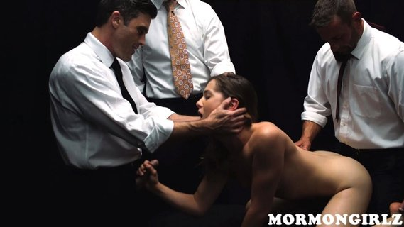 New Mormon girl Kasey Warner dragged into group sex. Check out New Mormon girl Kasey Warner dragged into group sex on FRPRN.com