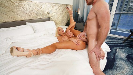 Nicolette Shea is having sex while hubby is sleeping. Check out Nicolette Shea is having sex while hubby is sleeping on FRPRN.com