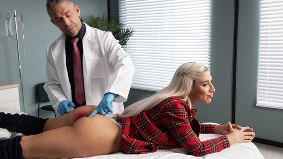 Doctor prescribes anal treatment for Abella Danger. Check out Doctor prescribes anal treatment for Abella Danger on FRPRN.com