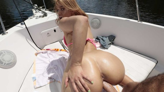 Kendall Kross is nailed on the yacht. Check out Kendall Kross is nailed on the yacht on FRPRN.com