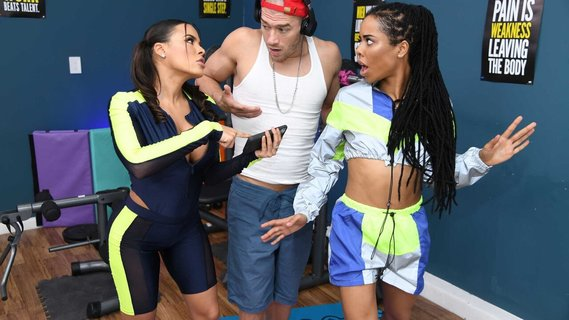 Kira Noir and Latina colleague replace workout with sex. Check out Kira Noir and Latina colleague replace workout with sex on FRPRN.com