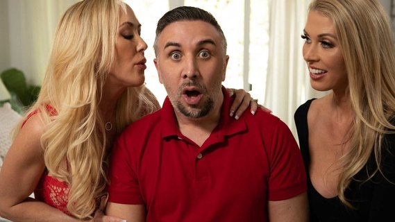Male tries his best fucking Brandi Love and Holly Hotwife. Check out Male tries his best fucking Brandi Love and Holly Hotwife on FRPRN.com