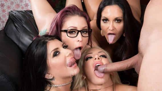 Ava Addams and other babes are hammered on Christmas. Check out Ava Addams and other babes are hammered on Christmas on FRPRN.com