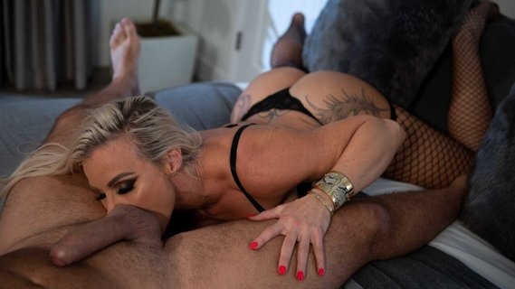Blonde MILF Robbin Banx in stockings is humped hard. Check out Blonde MILF Robbin Banx in stockings is humped hard on FRPRN.com
