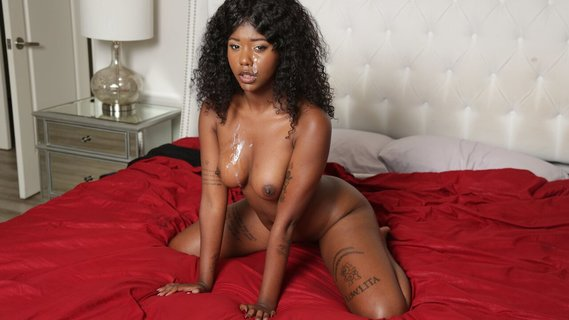 Curly black girl Daizy Cooper hints the guy at sex. Check out Curly black girl Daizy Cooper hints the guy at sex on FRPRN.com