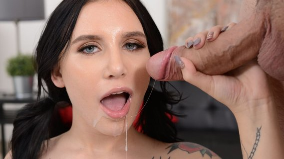 Whorish brunette Stella Raee came to Jmac for big cock. Check out Whorish brunette Stella Raee came to Jmac for big cock on FRPRN.com