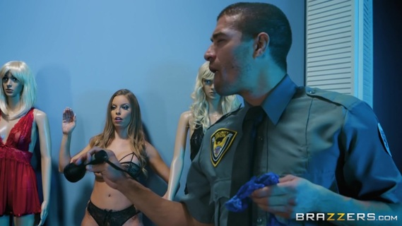 Chesty diva Britney Amber breaks in shop and seduces guard. Check out Chesty diva Britney Amber breaks in shop and seduces guard on FRPRN.com