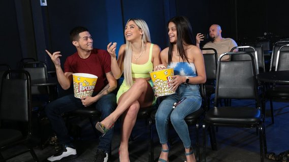 Crazy model Abella Danger analyzed right in the cinema. Check out Crazy model Abella Danger analyzed right in the cinema on FRPRN.com