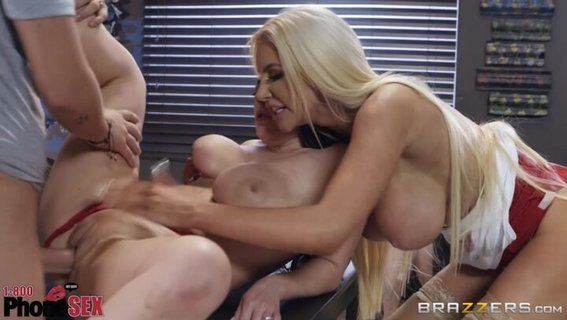 Angela White's husband fucks her and Nicolette Shea in the cafe. Check out Angela White's husband fucks her and Nicolette Shea in the cafe on FRPRN.com