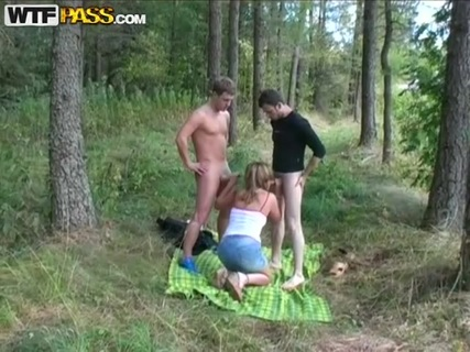 Karina assfucked and double penetrated in the fresh air. Check out Karina assfucked and double penetrated in the fresh air on FRPRN.com