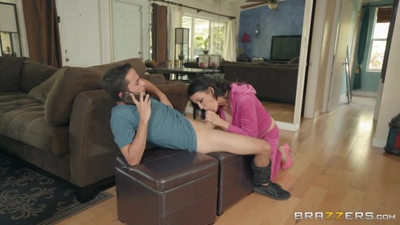Horny Reagan Foxx proves her stepson that she's hot. Check out Horny Reagan Foxx proves her stepson that she's hot on FRPRN.com