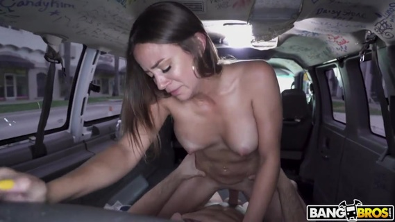 Slutty teacher Havana Bleu earns money in Bang Bus. Check out Slutty teacher Havana Bleu earns money in Bang Bus on FRPRN.com