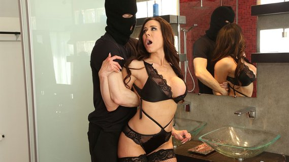 Kendra Lust seduces young thief with her awesome body. Check out Kendra Lust seduces young thief with her awesome body on FRPRN.com