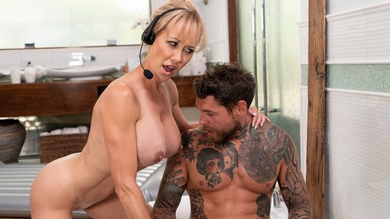 Bearded male with tattoos fucks big-boobied Brandi Love. Check out Bearded male with tattoos fucks big-boobied Brandi Love on FRPRN.com