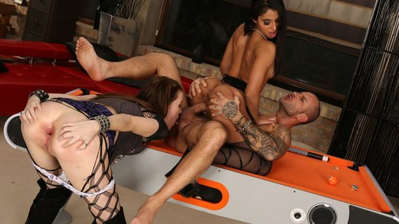 Macho fucks holes of Misha Cross and Ria Rodriguez. Check out Macho fucks holes of Misha Cross and Ria Rodriguez on FRPRN.com