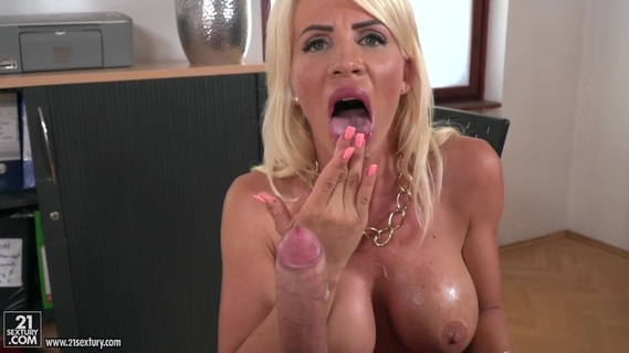 Bald worker has an affair with blonde boss Tiffany Rousso. Check out Bald worker has an affair with blonde boss Tiffany Rousso on FRPRN.com