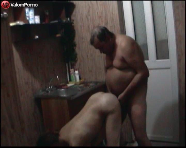 Русское порно толстый мужик