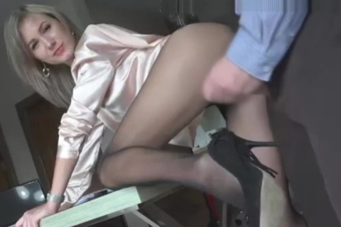 role work play with desk fucking, blow job &amp_ pussy licking. Desert Angel