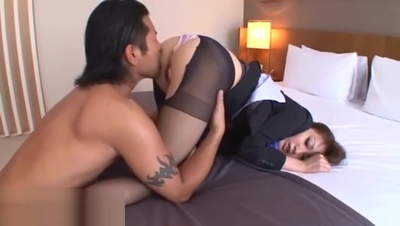 Japanese hostess in pantyhose fucked in hotel porn photo