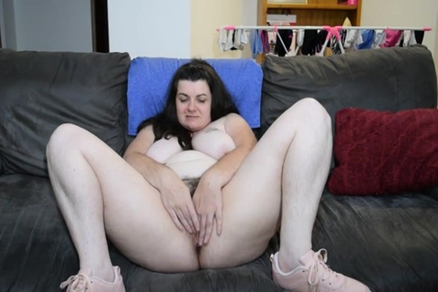 Spreading Hairy Pussy Porn