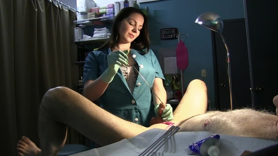 Nurse Stretches Slave's Urethra with Rosebud Sounds and Green Latex Gloves. The World's Best Free Amateur Porn Tube. The Largest Community with Real People Attended in Homemade Porn. Copyright © 2006-2019 HClips. All rights reserved.