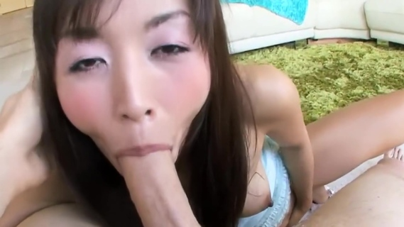 Petite Asian Marica Hase Chokes on Dick. Marica Hase