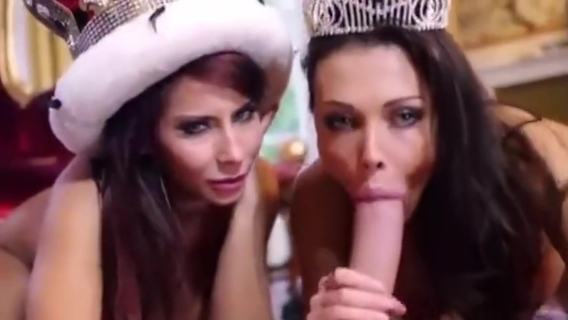 Big Tit Maid Aletta Ocean and Horny Tourist Madison Ivy Suck British Royal. Aletta Ocean,Madison Ivy