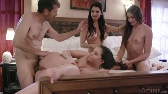 Gia Paige and Avi Love are having a weird family vacation. Separated Teen Foster Sisters Reunite Under Bizarre Circumstances During Family Vacation