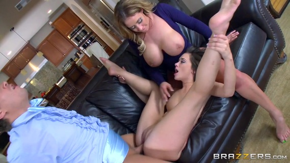 Mom and daughter cock sharing scenes in slutty modes. Mom and daughter cock sharing scenes in slutty modes