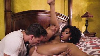 White guy manages to fuck a girlfriend Sarah Banks and her stepmother. White guy manages to fuck a girlfriend Sarah Banks and her stepmother