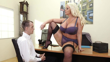 Office woman Alura Jenson with great boobs makes subordinate nail her. Office woman Alura Jenson with great boobs makes subordinate nail her
