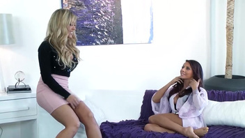Ivy Madison and her lesbian girlfriend having some fun. Ivy Madison and her lesbian girlfriend having some fun