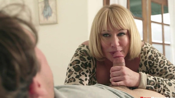 Chubby mature Mellanie Monroe sucking cock and fucking. Chubby mature Mellanie Monroe sucking cock and fucking