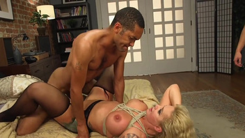 Anal interracial home experience for busty wife, Ryan Conner. Anal interracial home experience for busty wife, Ryan Conner