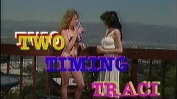 Vintage porn scene features Traci Lords naked outdoor. Vintage porn scene features Traci Lords naked outdoor