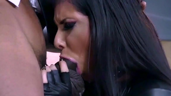 Sweet babe Romi Rain enjoys a huge black dick inside. Sweet babe Romi Rain enjoys a huge black dick inside