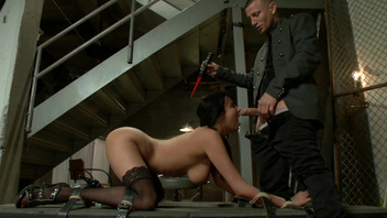 BDSM fuck scene with astonishing pornstar Anissa Kate. BDSM fuck scene with astonishing pornstar Anissa Kate