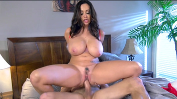 Amazing schlong riding with huge hooters Ava Addams. Amazing schlong riding with huge hooters Ava Addams