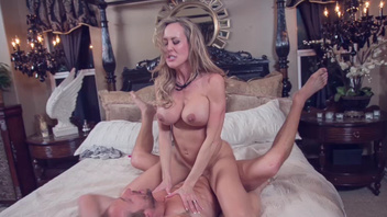 Perfect MILF Brandi Love gets nicely fucked and pleased. Perfect MILF Brandi Love gets nicely fucked and pleased