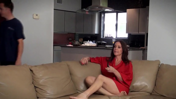 Hot milf, Rachel Steele, delights with young cock in her twat. Hot milf, Rachel Steele, delights with young cock in her twat