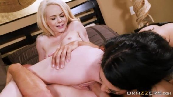 Elsa Jean, Katrina Jade in Elsa and Katrina. Elsa and Katrina are BFFs and bonafide pornstars. Today the two reveal the truth about what turns them on, gets them off, and drives them wild for one another. Keiran's there to provide them with a hard cock to bounce on, too.