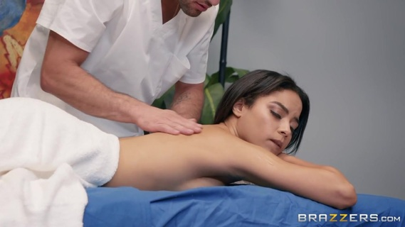 Maya Bijou in Maya is in the mood for an oily rubdown, and masseur Damon is ready to help her feel amazing from head to toe.. Maya Bijou in Maya is in the mood for an oily rubdown, and masseur Damon is ready to help her feel amazing from head to toe.