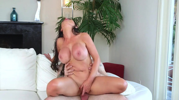 Busty Nikki Benz knows proper cock riding in serious modes. Busty Nikki Benz knows proper cock riding in serious modes