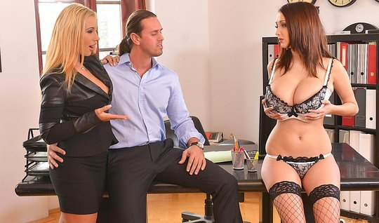 Kyra Hot Busty Office Worker Knows How To Use Tools 1