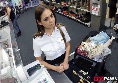 Секс стюардессы качественно видео писечки