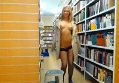 Порно Видео Разделись В Библиотеке