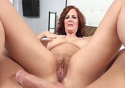 Redhead Mom Pussy Creampie
