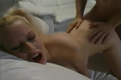 Blond Girls Sucks Cock And Then Takes It Hard In Her Tight Pussy. Davia Ardell